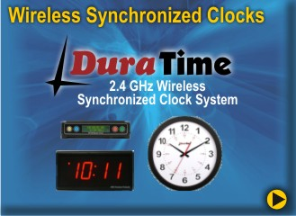 BRG DuraTime Synchronized Clock Systems is a reduntant Mesh Network system designed to never fail