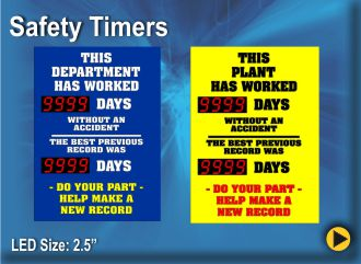 BRG Safety Timers promote safety in the workplace