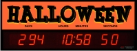 Countdown Clock to Halloween