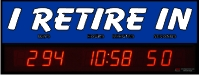 Countdown Clock to Retirement