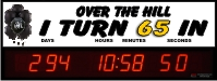 Over the Hill countdown clocks to major birthdays
