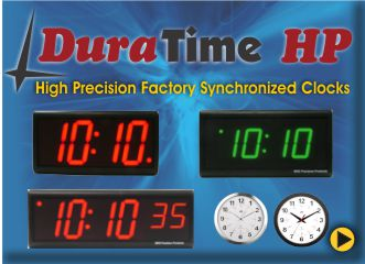 BRG's DuraTime HP High PRecision Clocks
