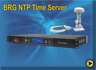 BRG's NTP Time Server'